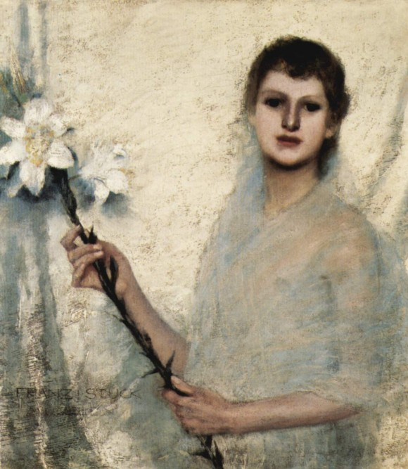 Franz von Stuck unschuld innocence 580x667 Androgynie en femme fatale bij Franz von Stuck 